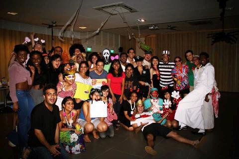 大学院生徒会主催のハロウィンパーティー